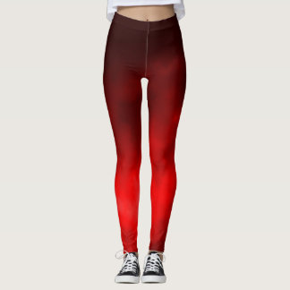 Faded Red Genie Smoke Leggings