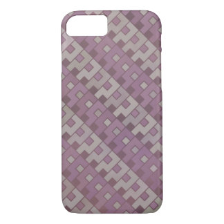 Faded Red Question Pattern iPhone 7 Case