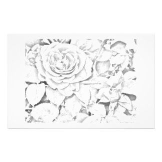 Faded Rose 2 Personalized Stationery