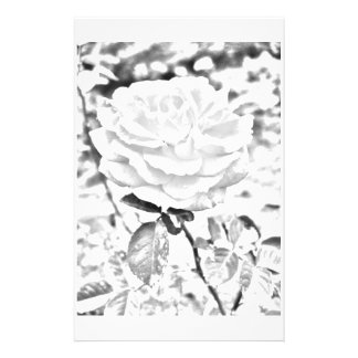 Faded Rose 3 Stationery Paper