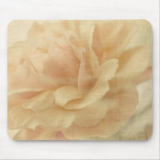 faded roses mouse pad