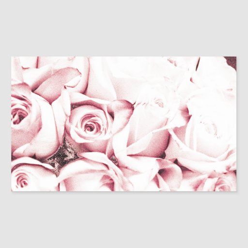 FADED ROSES STICKER