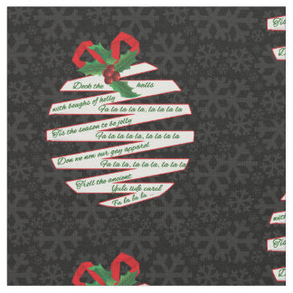 Faded Snowflakes on Black in Origami Theme Fabric
