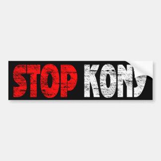 Faded Stop Kony Bumper Sticker Car Bumper Sticker