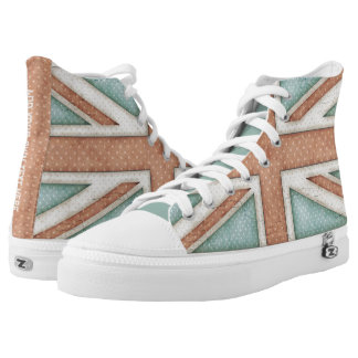 Faded Vintage Union Jack Personalized