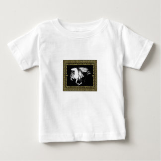 faded white hourse baby T-Shirt