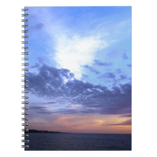 Fading into Dusk Notebook