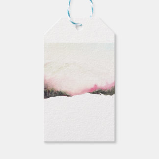 Fading mountains gift tags