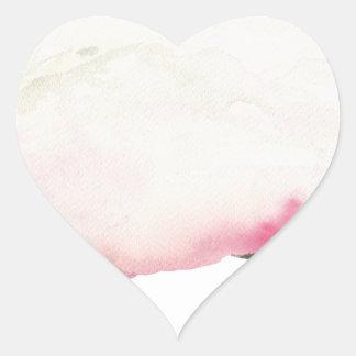 Fading mountains heart sticker