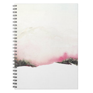 Fading mountains notebook