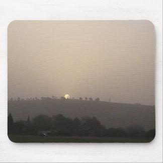Fading Sun 2 Mouse Pad