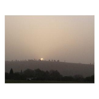 Fading Sun 2 Postcard