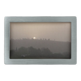 Fading Sun 2 Rectangular Belt Buckles