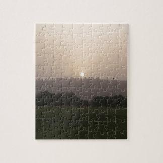 Fading Sun Jigsaw Puzzle