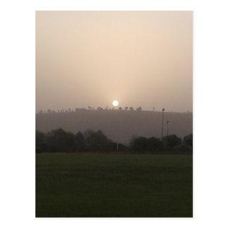 Fading Sun Postcard