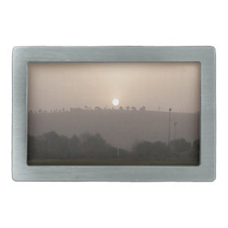 Fading Sun Rectangular Belt Buckles