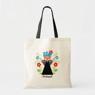 Fado Portuguese singer and ships Tote Bag
