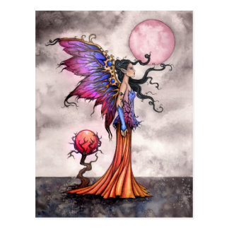 Fae Abigail Fairy Fantasy Art Postcard