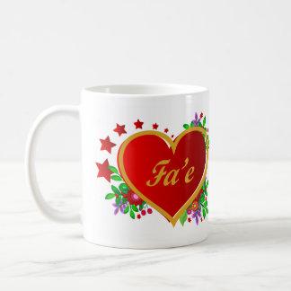 Fa'e - Mother's Day - Tonga Coffee Mug