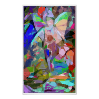 Faerie Abstract Surreal Poster