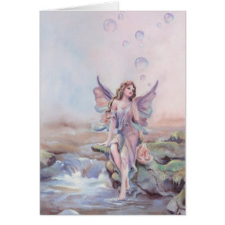 FAERIE BUBBLES by SHARON SHARPE Card