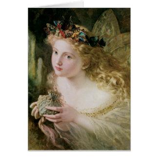 Faerie (Fairy) Painting Blank Card