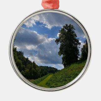 Faerie Hill Metal Ornament