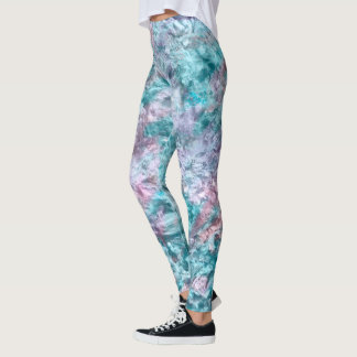 Faerie:Lily, Nepal, Turquoise, Amethyst Smoke Leggings