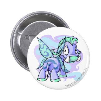 Faerie Moehog 6 Cm Round Badge