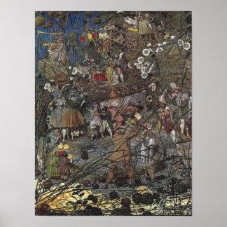 Faerie Poster/Print: Fairy Fellers' Master Stroke Poster
