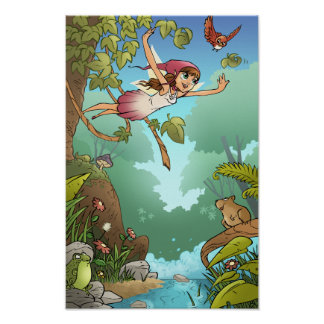 Faerie Stories Mini Poster