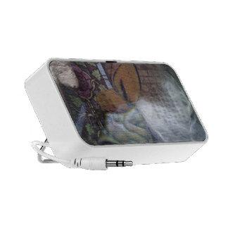 Faerie under glass speakers