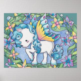 Faerie Unicorn Print