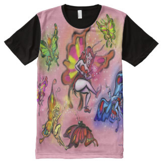 Faeries All-Over Print T-Shirt