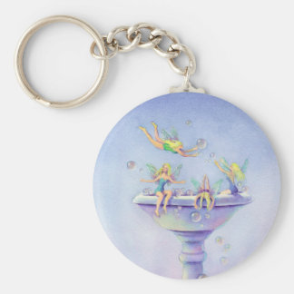 FAERIES BUBBLEBATH by SHARON SHARPE Key Ring