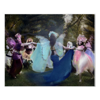 Faeries Dancing by Cheryl Fair Poster