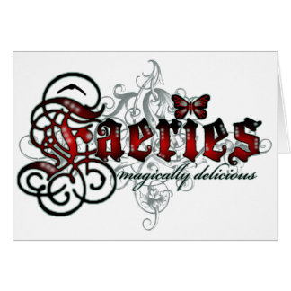 Faeries Magically Delicious Cards