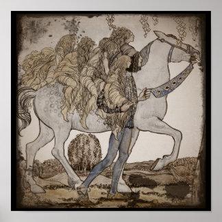 Faeries on Horseback Posters
