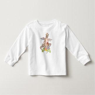 Faery & Dragon Flowers Tee Shirt