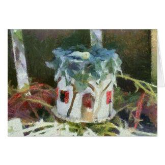 Faery House Card