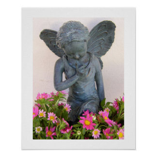 Faery in the Flowers Print