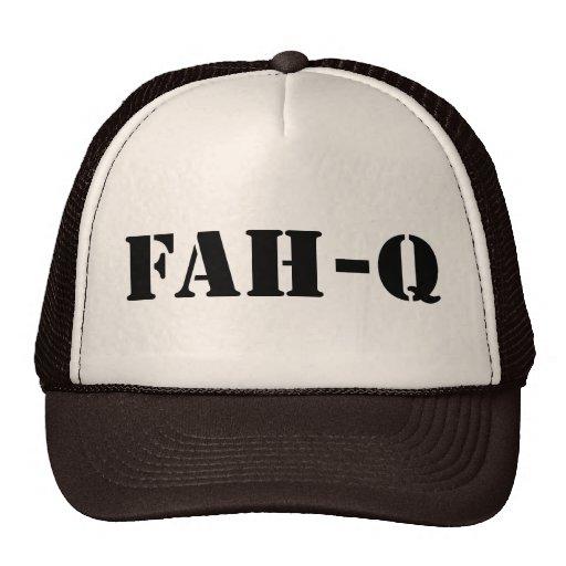 Fah Q Mesh Hats