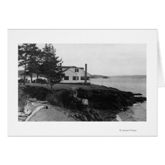 Fahlen's Hope Island Caf� in San Juan Islands Card