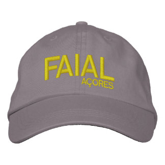 Faial* Açores Personalized Hat Embroidered Baseball Cap