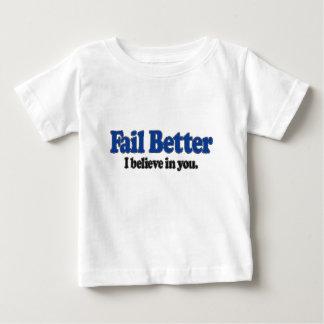 Fail Better Baby T-Shirt