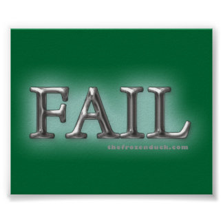Fail Poster