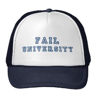 Fail University Cap