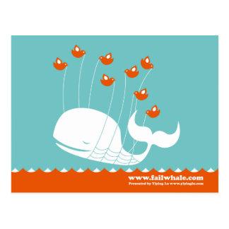 Fail Whale Post Card