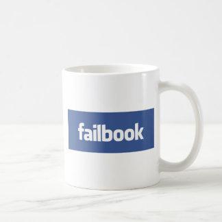 failbook basic white mug