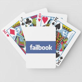 failbook playing cards